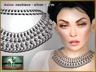 Bliensen - Aziza - necklace - silver