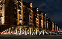 Speicherstadt Hamburg (muman71) Tags: dscf4655 speicherstadt hamburg longexposure langzeitbelichtung f10 40sec iso200 18mm fuji xt2 nachtaufnahme germany nightwalk