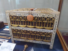 Filigree Chest decorated with Ankhs (Aidan McRae Thomson) Tags: tutankhamun cairo museum egypt ancient egyptian