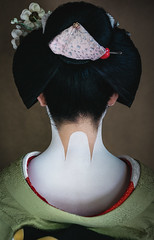 Porcelain (Trent's Pics) Tags: female geisha japan kimono kyoto lifestyle maiko nape neck people porcelain portrait spiritual woman