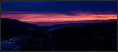 Woodhead Sunset (Blaydon52C) Tags: woodhead sunset sky longdendale pink red orange fire blue skies sun dark dusk evening