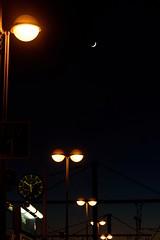 Trip Moment (NathalieSt) Tags: camargue europe france gard languedocroussillon luminaire gare light lumières night nikon nikond750 nikonpassion nikonphotography nimes nuit station train