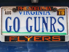 Go Gunners (Philadelphia Flyers) (Gamma Man) Tags: licenseplate plate rva ric va virginia richmond richmondva richmondvirginia elichristman elijahchristman elijameschristman elijahjameschristman elichristmanrva elijahchristmanrva elichristmanrichmondva elichristmanrichmondvirginia elijahchristmanrichmondva elijahchristmanrichmondvirginia vanitytag numberplate wankertag customnumberplate sportsseries vanityplate