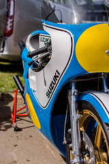 Suzuki (StevePilbrow) Tags: suzuki barry sheene motogp motorcycle vintage classic sports car show flywheel festival raf bicester heritage centre june 2018 nikon d7200 nikkor 35mm 18