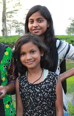 Sonari girls. Assam, India (n1ck fr0st) Tags: sonari girls indian assam india tea plantation
