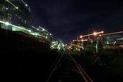 工場夜景 03 (sunuq) Tags: canon eos 5dsr ef1635mmf0 ef1635mm kawasaki ukishima 川崎 浮島 工場 工場夜景 factory outdoor architecture night city road