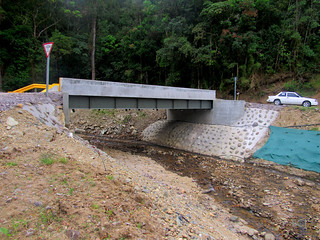 Otro puente, pero este obra de la municipalidad de Dota/ Another bridge, but this one a work by Dota municipal government