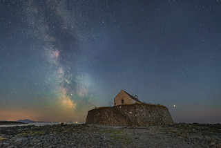 'Heavenly Worship' - Porth Cwyfan, Anglesey