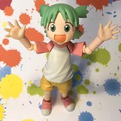 Happiness Is within Your Reach (Sasha's Lab) Tags: yotsuba koiwai girl happy happiness revoltech action figure jfigure explored