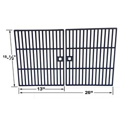 2-PACK-CAST-IRON-COOKING-GRID-FOR-BBQ-GRILLWARE-41590-TERA-GEAR-314168-ARKLA-4051K-AND-EMBERMATIC-4020U-GAS-GRILL-MODELS (grillpartszone) Tags: cast iron cooking grid bbq grillware