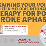 ACRM Conference #ACRM2018: STROKE session: 422257 Conklyn thumbnail