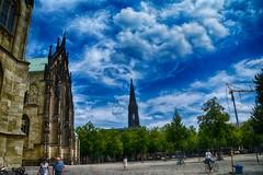 Münster 2018 (22_Juli)_0476b (inextremo96) Tags: münster botanischergarten muenster westfalen widertäufer lamberti aegidien dom kirche church germany mittelalter darkage kiepenkerl