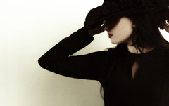 Cloaking Emotion (coollessons2004) Tags: mystery mysterious woman vintage poetry poem beauty beautiful