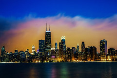 🚀 Scorched Chicago Skyline Sunset (Joshua Mellin) Tags: chicagofire chicago fire fiery firey skyline sunset flame flaming scorched red orange bright gateway cloud otherwordly strange different spooky halloween october summer july 2018 warm hot weather lake lakemichigan buildings dusk joshuamellin josh joshua mellin joshmellin writer photographer travel journalist photog pic picture pictures live best forhire rocketship rocketshipemoji emoji amazing insane 18 globalwarming proof aninconvenienttruth greatlakes nature disaster water calm peaceful therapy revenge peace sight sites mostinstagrammable instagram colors beautiful unbelievbale fir