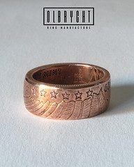 Handmade Copper Ring Liberty (olbrychtrings) Tags: jewelry jewellery ring art handmade handcrafted copper signet band olbrycht rings