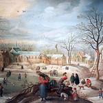 IMG_0106A Pieter Snayers. 1592-1666 Anvers et Bruxelles Les Quatre Saisons. L'Hiver. The four Seasons. Winter Tours Musée des Beaux Arts. thumbnail