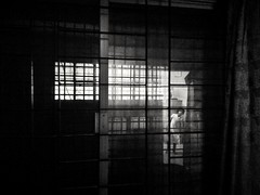 """""""The ghost of You"""" (Shahrear94) Tags: reflection ghost figure blackandwhite blackwhite black monochrome monochromatic mono cellphone xiaomi contrast night indoor glass frame same"""