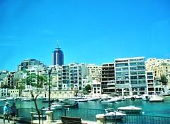 2016-06-08l powrót do Bugibby (16) (aknad0) Tags: malta krajobraz architektura morze