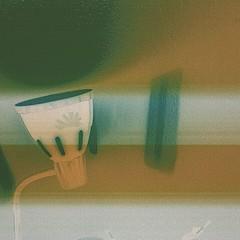 lamba (nayera.shalaby) Tags: lightplay lamp yellow green grain
