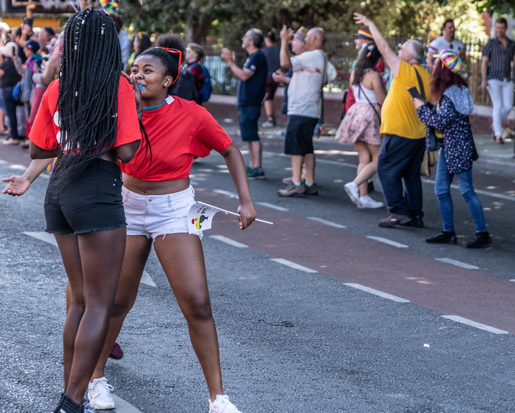 ABOUT SIXTY THOUSAND TOOK PART IN THE DUBLIN LGBTI+ PARADE TODAY[ SATURDAY 30 JUNE 2018] X-100152