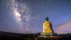 Saanjh (Sachin Chausali) Tags: milkyway galaxy lord buddha astrophotography landscape landscapes nightscapes nightsky nature nightphotography nights outdoor outdoorphotography contrast stars mountains himalayas sachin chausali sachinchausali