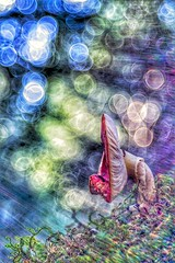 Spielerei (HelmiGloor) Tags: amanitamuscaria fliegenpilz toadstool meyergörlitz2950mmtrioplan trioplan olympusomdem1mkii makro macro mushroom pilze pilz wald