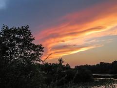 lake katherine sunset. july 2018 (timp37) Tags: sunset lake katherine illinois summer july 2018 palos clouds sky