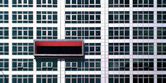 (Delay Tactics) Tags: sheffield building architecture gris rectangles red windows bigshot pano panorama westfield health house