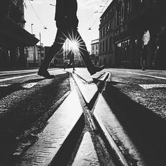 crossing the road (digital_underground) Tags: sunset sonyalpha street sun sony streetphotography istanbul