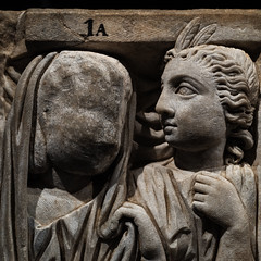 Frightened by my feelings / I only wanna be a relief (diffendale) Tags: museum museo museu musée μουσείο музеи müze artifact display exhibit متحف ancient antico antique archaeological archeologico sculpture bildhauerkunst plastik γλυπτική escultura scultura скульпту́ра نحت heykel sarcophagus sarcofago marble marmo marmara proconnesian proconneso proconnesus roman romano römisch romain ρωμαϊκόσ roma romen الرومانية римская rome rom rhufain ρώμη romo рим pleiades:findspot=423025 3rdcce 1sthalf3rdcce 1stmillenniumce empire imperial muse musa mousa μουσα esquiline necropolis necropoli esquilina sufjan
