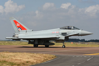 ZK318 Eurofighter Typhoon FGR.4 EGVA 14-07-18