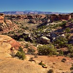 Looking Back Across a Hike Walked (Canyonlands National Park) thumbnail