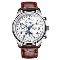 GUANQIN GQ20022 Moon Phase Calendar Auto Mechanical Watch (1270662) #Banggood (SuperDeals.BG) Tags: superdeals banggood jewelry watch guanqin gq20022 moon phase calendar auto mechanical 1270662