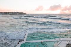 Bondi Icebergs Pool (FlavioSarescia) Tags: australia bondibeach sonyrx sydney nature sea ocean sunrise sun sunshine hss bondi icebergs pool swimming swimmingpool summer downunder