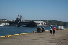 USS Bonhomme Richard Departs Sasebo for the Last TIme (CTF 76) Tags: bhr ctf76 homeportshift ussbonhommerichard sasebo japan