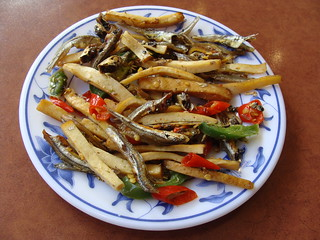 Deep Fried Fish with Chili Pepper