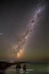 pano2agibson (nathanmeade_) Tags: galaxy milkyway night stars astro astrophotography pentaxian pentax1530 pentaxflickraward pentaxk1 k1captures victoria 12apostles