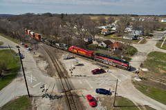 Heritage Trio (Trainboy03) Tags: iowa interstate iais 513 516 norfolk southern ns 1066 colona illinois il