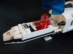 Orion One solo explorer (SaurianSpacer) Tags: lego moc futuron classicspace spaceship neoclassicspace