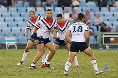 Sharks v Roosters Round 5 2018_009.jpg (alzak) Tags: 2018 chooks cronulla eastern easts league nrl national roosters rugby sharks suburbs action practice practicing sport sportssydneyaustralia training up warm