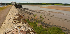 THE RIVER SEVERN AT SHARPNESS (chris .p) Tags: nikon d610 sharpness gloucestershire england summer 2018 view water river june capture wall uk path canal waterways