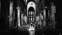 Notre-dame de Dijon (rvrossel) Tags: blackandwhite bw bnw blancoynegro noiretblanc fujixpro2 xpro2 fujifilm fuji fujilove fujishooters church notredame