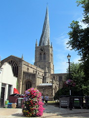 The crooked spire (kingsway john) Tags: st marys all saints chesterfield tower spire crooked derbyshire uk
