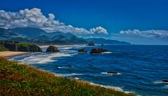 Oregon Coast_2 (Rusty Turnbuckle) Tags: oregon coast beach landscape ocean pacificnorthwest water clouds