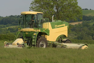 Krone Mig M450 Self Propelled Mower Conditioner