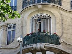 """Cinéma """"Le Prado"""" (ancien siège de la Banque des Comores et de Madagascar) - 36 avenue du Prado, Marseille (13) (Yvette G.) Tags: marseille bouchesdurhône 13 provencealpescôtedazur paca artnouveau architecture cinéma banque"""