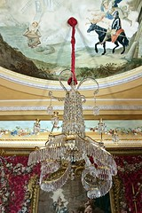 Chandelier (just.Luc) Tags: chandelier kroonluchter leuchter lustre palace paleis schloss charlottenburg ceiling plafond decke techo berlin berlijn allemagne deutschland duitsland germany glas glass