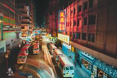 夜旺角 (猫之瑪姫) Tags: hongkong mongkok nightcape citycape longexposure nikon 旺角 香港 夜景