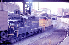 Western Maryland 6406 (CPShips) Tags: westernmaryland bo emd gp9 baltimore 1976