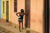 CUBA Trinidad La Gente VI (stega60) Tags: cuba trinidad latarde afternoon colores color lacalle mujer puertas doors ventanas windows warm caliente sun stega60